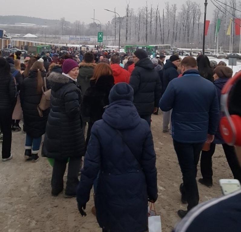 В Екатеринбурге минёры снова взялись за своё. Эвакуация прошла в крупнейших торговых центрах