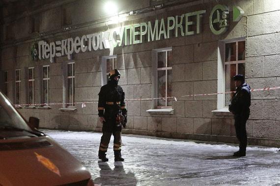 ФСБ сообщила о задержании организатора и исполнителя взрыва в петербургском «Перекрестке»