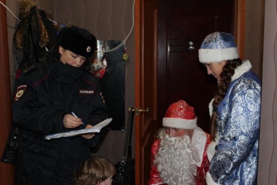 «Полицейский Дед Мороз» в Ревде