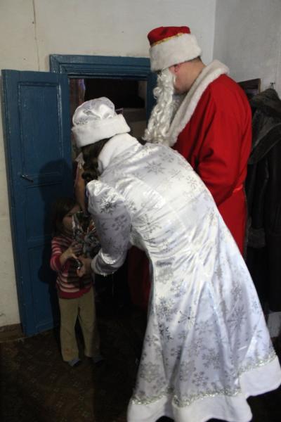 «Полицейский Дед Мороз» побывал в гостях у детей Камышлова