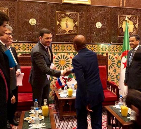 Евгений Куйвашев находится с рабочим визитом в Алжире