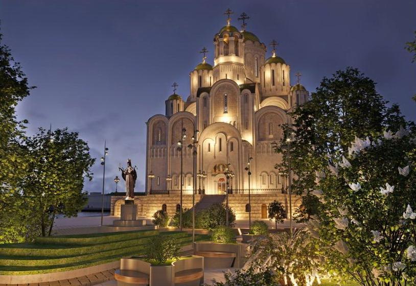 Завтра градсовет при губернаторе рассмотрит проект храма Святой Екатерины