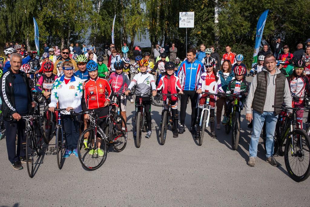 Евгений Куйвашев принял участие в «Тур де Шарташ — 2018»