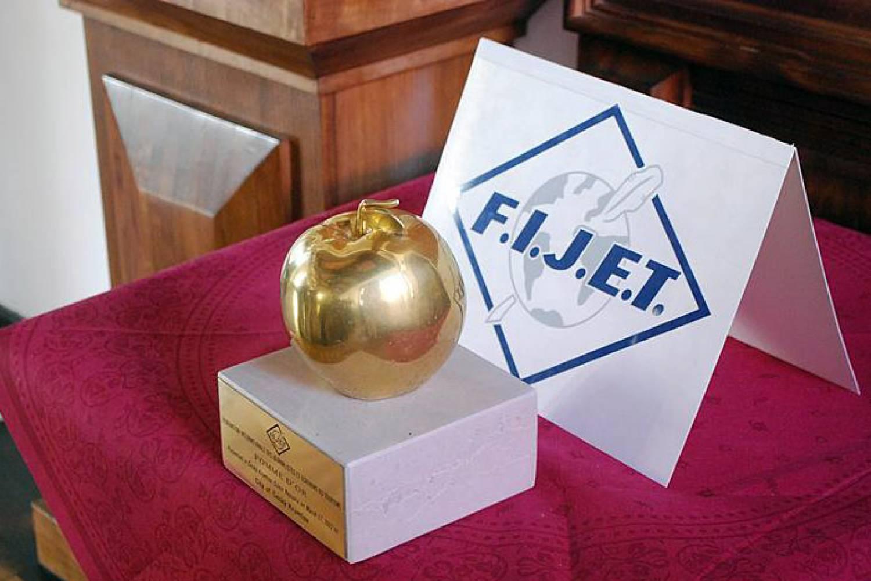 Свердловская область получила международную награду в сфере туризма — «Золотое яблоко»
