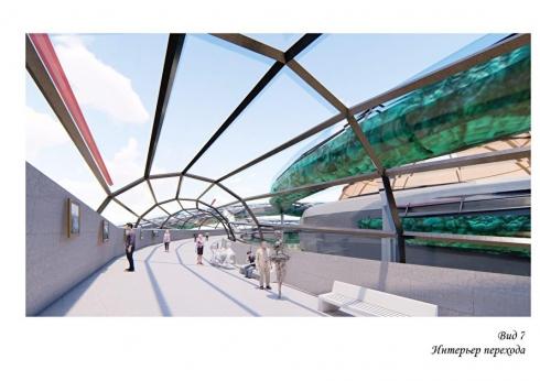 В Екатеринбурге появится необычный пешеходный мост, соединяющий «Сима-Ленд» с ЭКСПО-центром