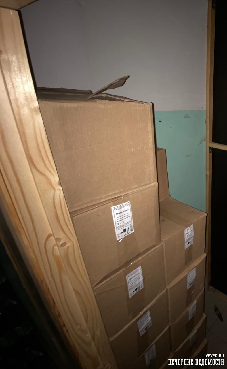 Из магазина в Верхней Салде изъяли 32 коробки со спиртом: в город пришлось выезжать оперативникам из Екатеринбурга